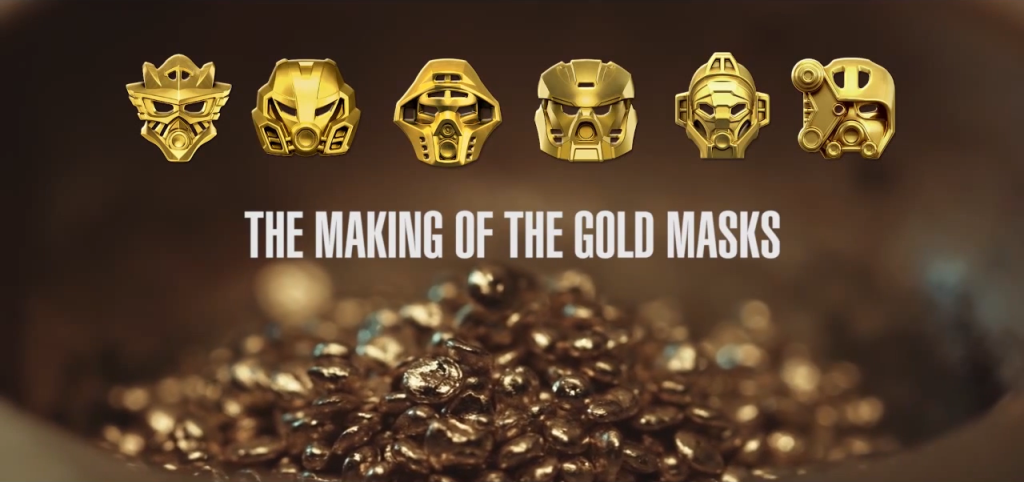 The Making of the Gold Masks